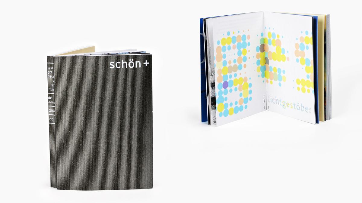 schön+ Typografische Gestaltung de Jong